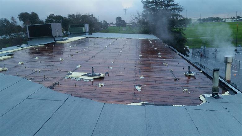 Water-Infiltration-Commercial-Roof-Damage-Reliable-Roofing