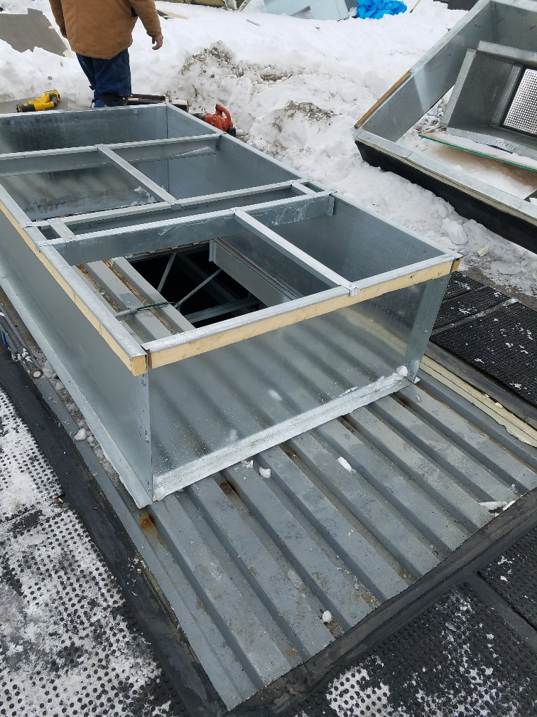 4 Roof Deck Opened Per Mechanical Contractor
