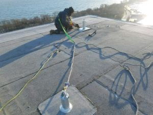 Commercial-Roof-Anchor-Installation
