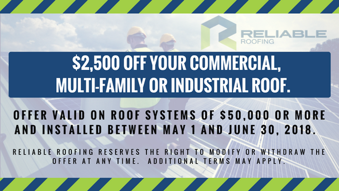 $2,500 Discount on New Commercial Roof.v3
