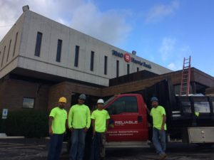 Reliable-Roofing-Team-Truck-BMO-Harris-Bank