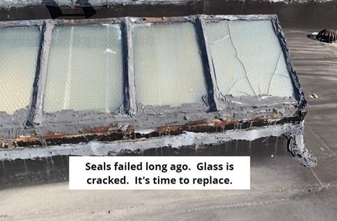 Broken Glass Skylights