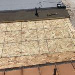 Roof Repair on Metal Roof